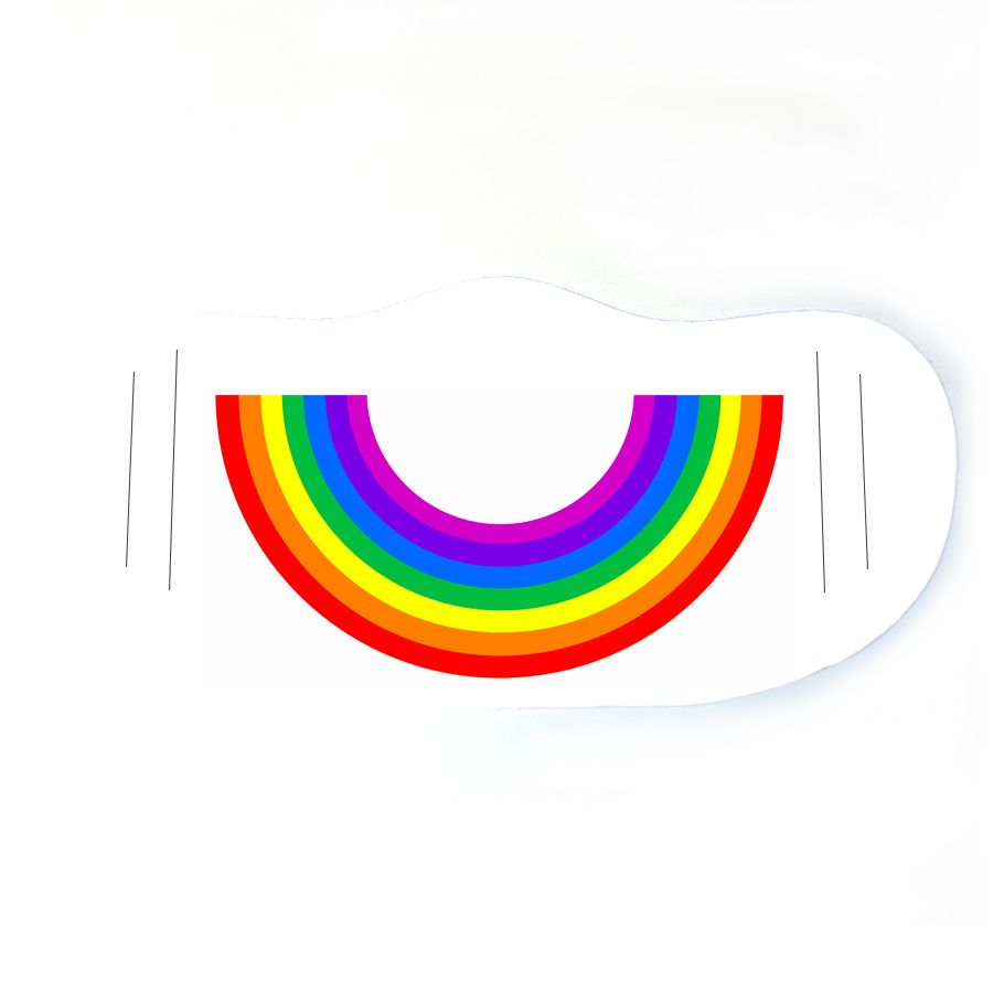 Custom face mask - RAINBOW