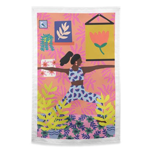 Creative design on tea towels