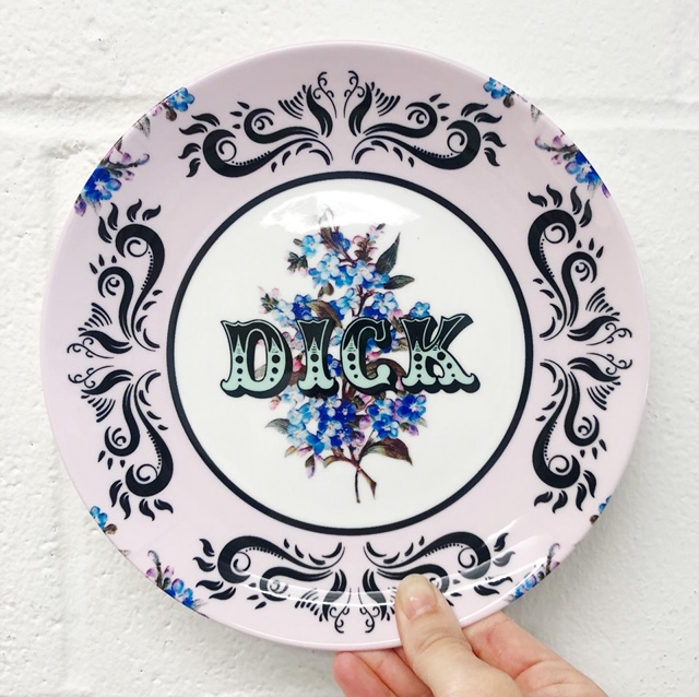Ceramic plate - buy on Artwow