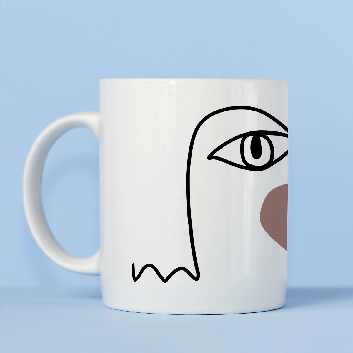 Designer coffee mugs