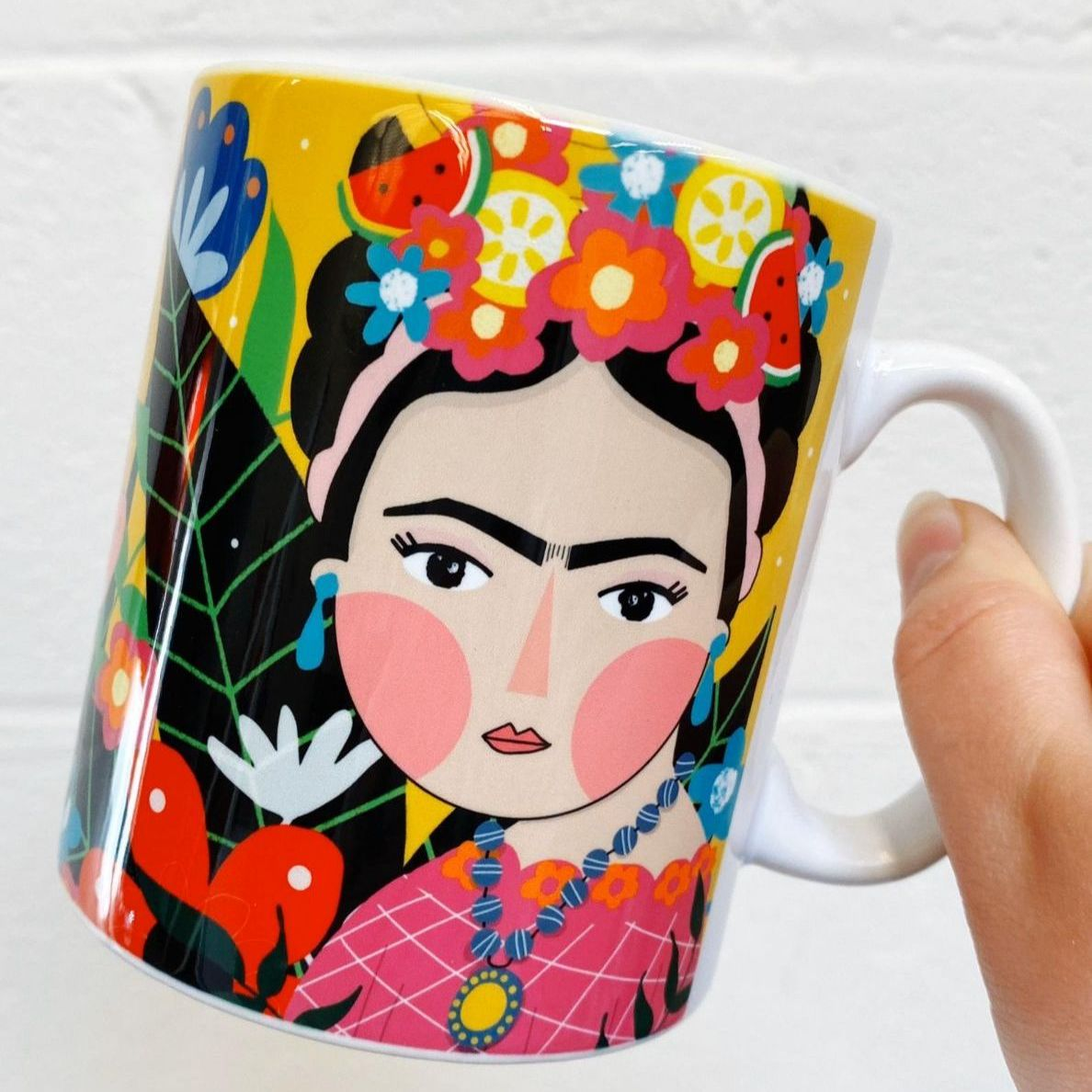 Frida Kahlo gifts - personalised coffee cups