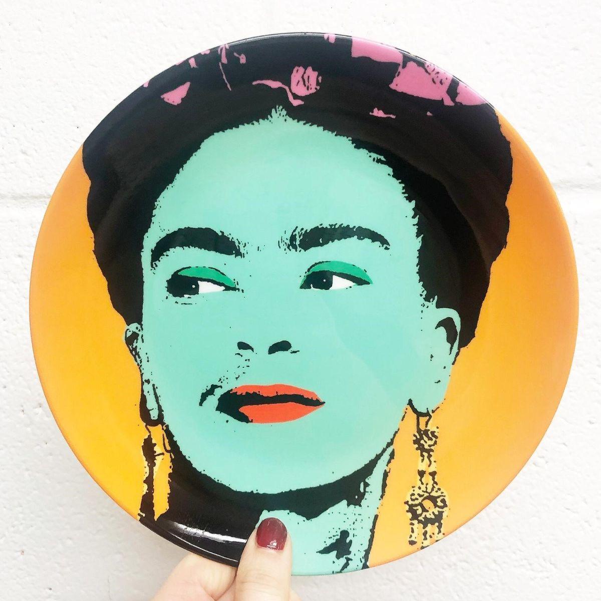 Frida - designer dinner plate