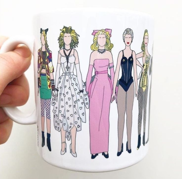 Madonna fashion - photo mugs in UK