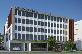 artist impression of kingswood private hospital