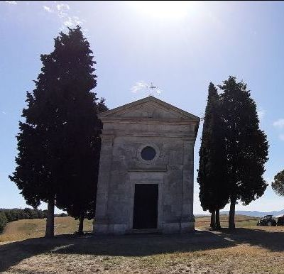Cappella di Vitaleta (SI), luglio 2020