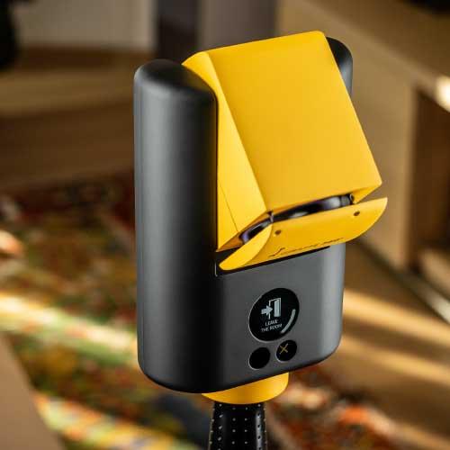 Top of Giraffe360 camera