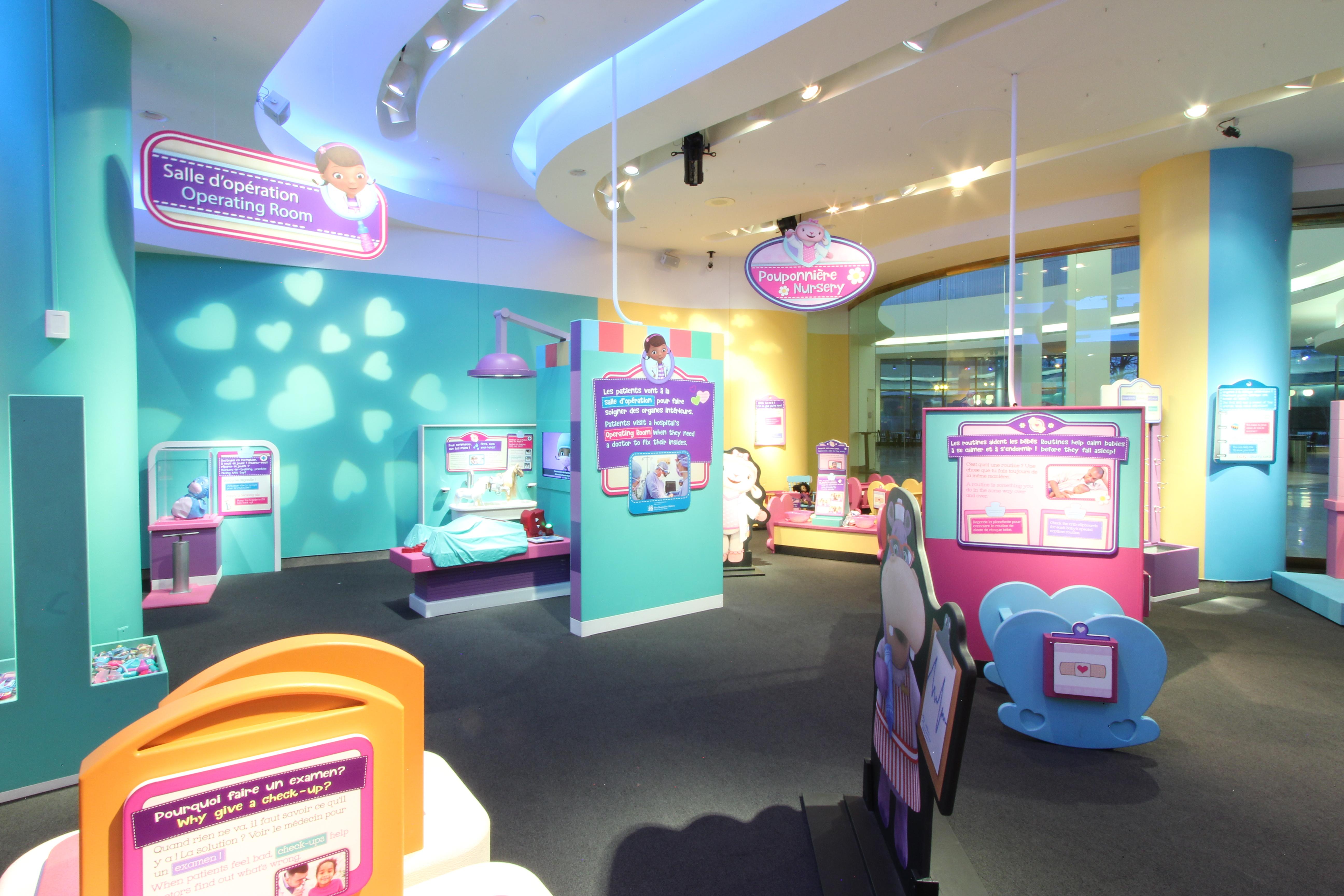 The Doc McStuffins Exhibit at the Canadian Children's Museum