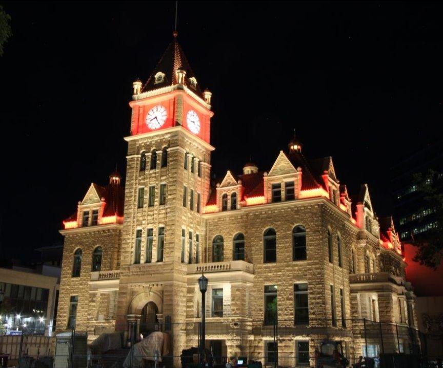 Calgary City Hall at Night