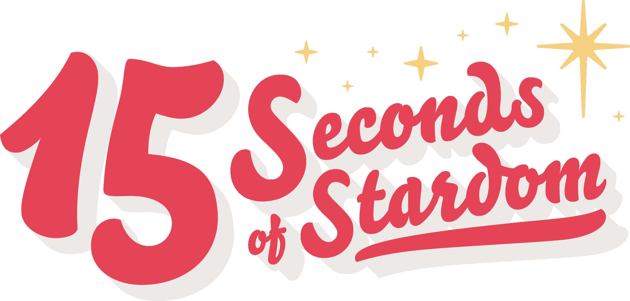 15 Seconds Logo