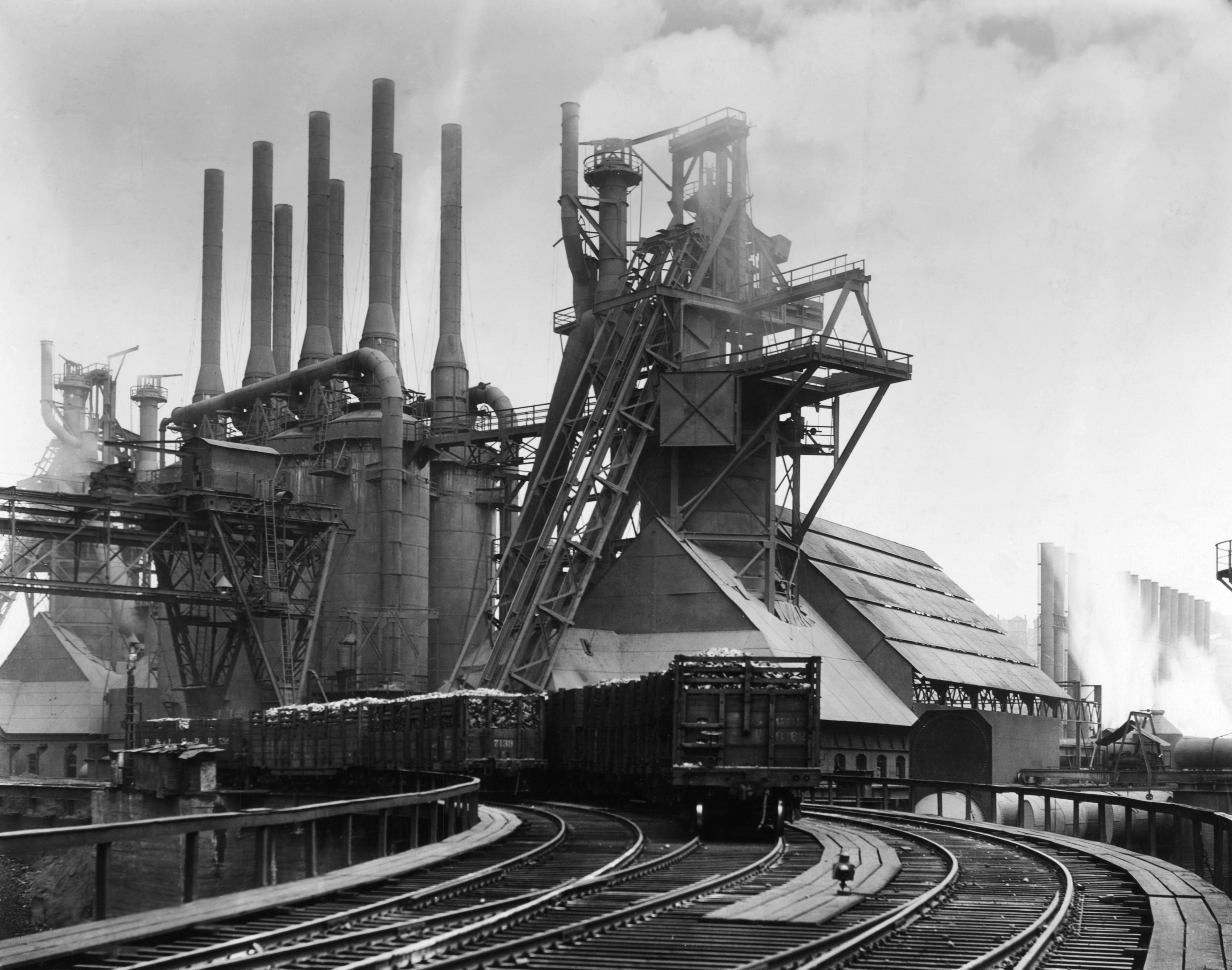 a Carnegie Steel Mill