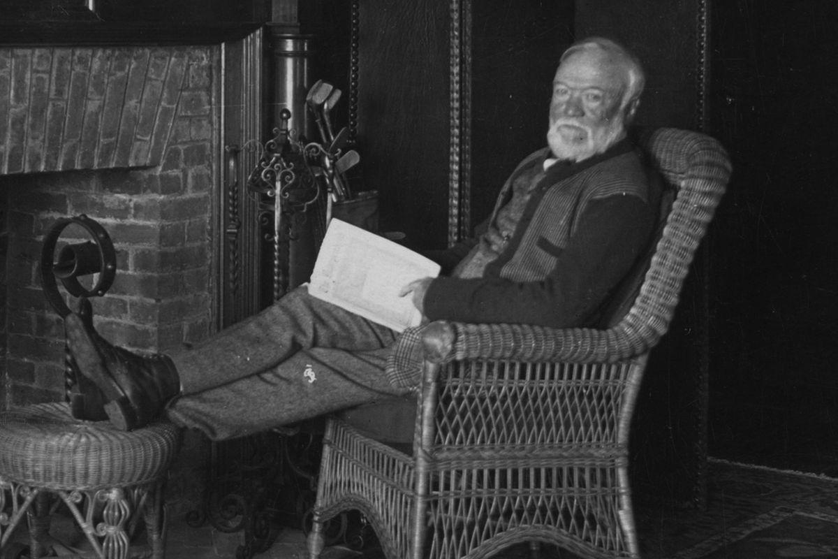 Carnegie when he's older