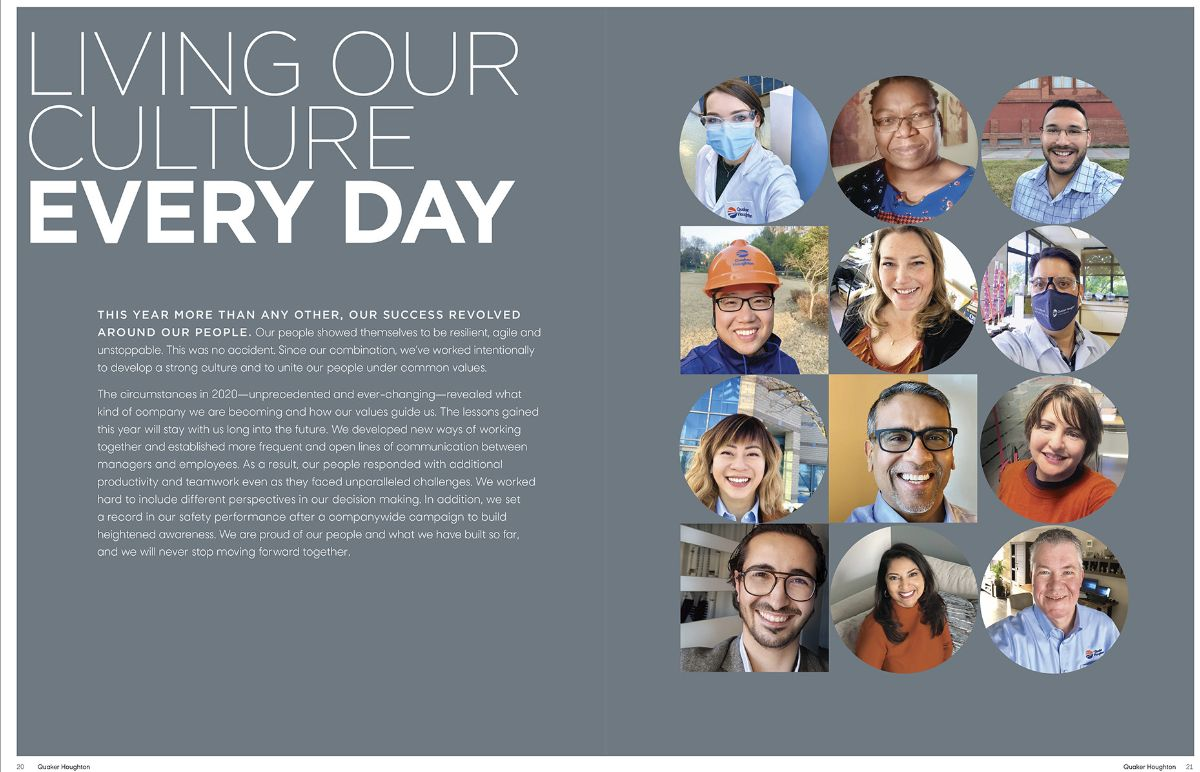 Faces of Quaker, Living Our Culture Every Day