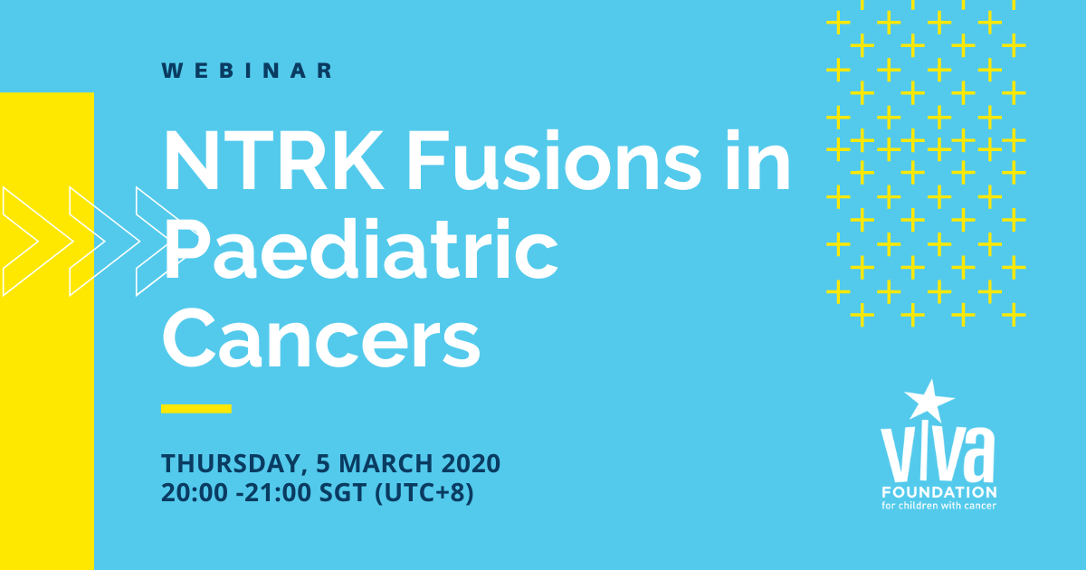 NTRK Fusions in Paediatric Cancers
