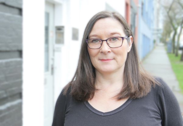 Kerry Porth, a sex work policy consultant for Pivot Legal Society, says COVID-19 is increasing risk for some workers. Photo from Pivot Legal.
