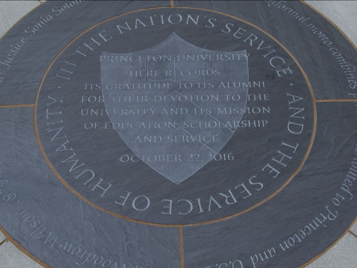 Princeton in the nation's service shield