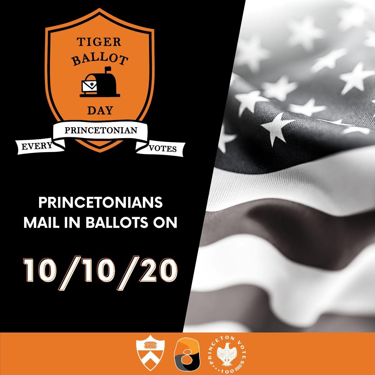 Tiger Ballot Day poster
