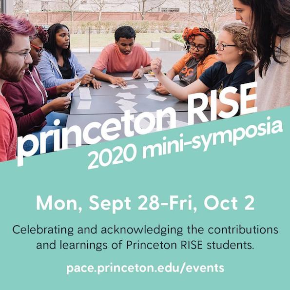 Princeton RISE mini symposia poster