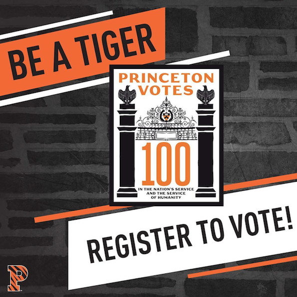 Be a Tiger - Register to Vote