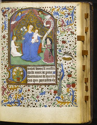 A page from a book of hours