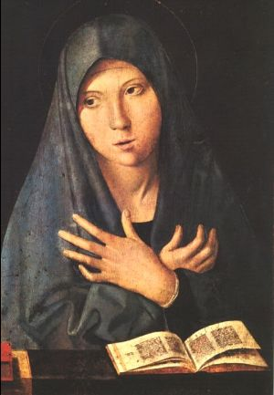 Antonello da Messina Annunciation