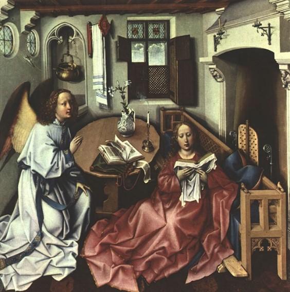 Robert Campin Annunciation
