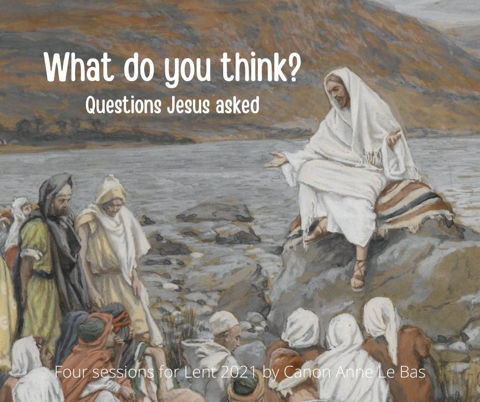 Jesus teaching a crowd: Lent Course image