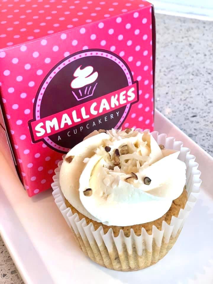 Keto Italian Cream Cupcake