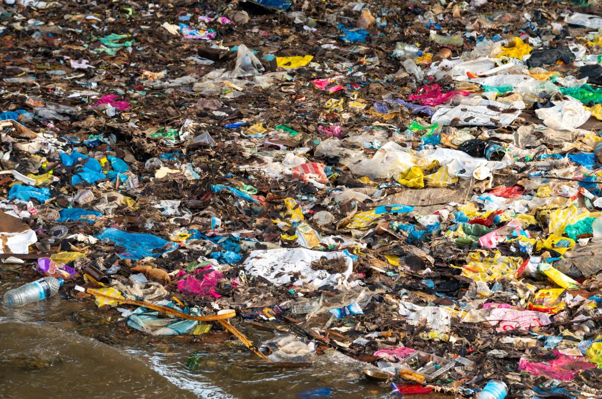 Single-use plastic litter