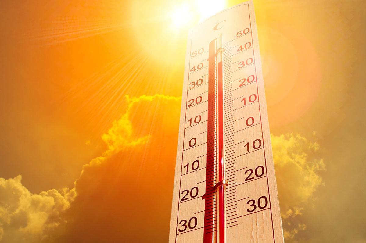 Record high temperatures Image