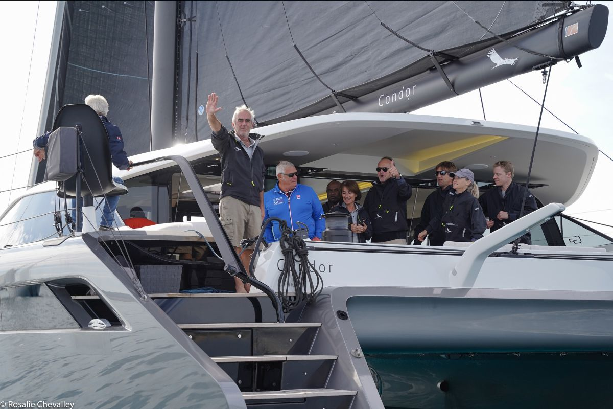 Gunboat 68 Cruising Day Saint Tropez