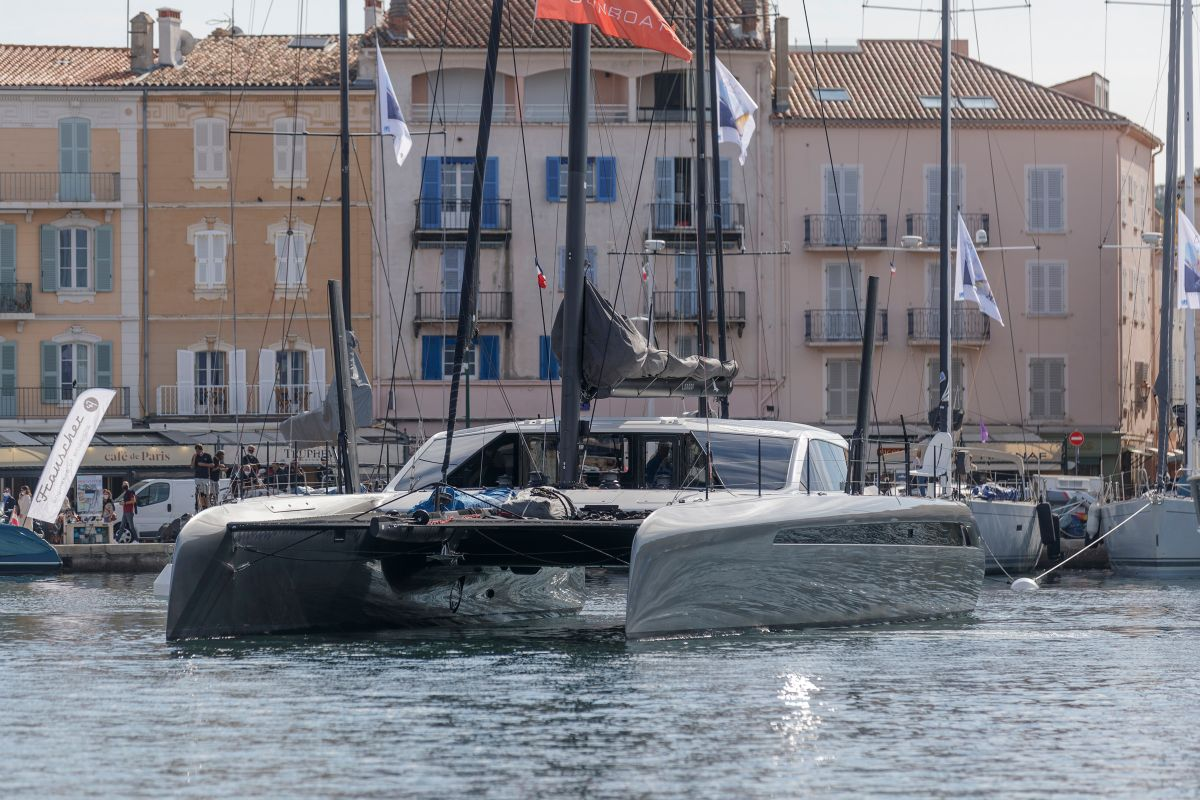 Gunboat 68 Saint Tropez Gilles Martin-Raget