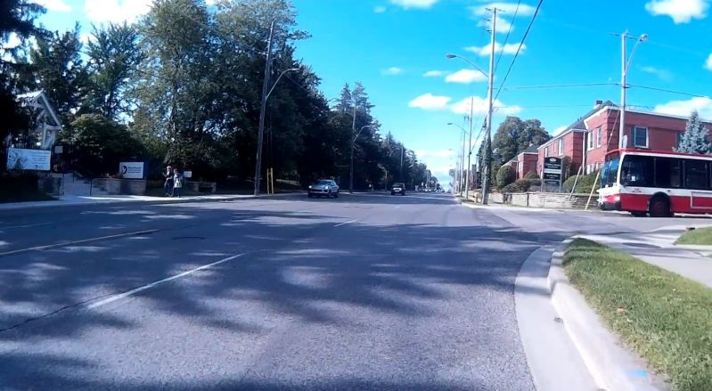 Bayview-Sutherland intersection, courtesy of Cycle Don Valley Midtown