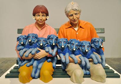 Jeff Koons, Sculpture