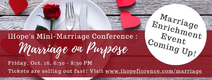 Marriage Enrichment Event Oct. 16