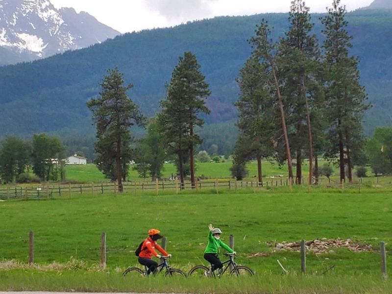 Custom cycling tour Montana - MTAS