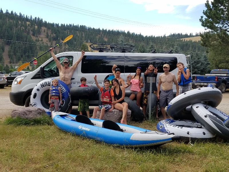 River Float Shuttling in Missoula, MT