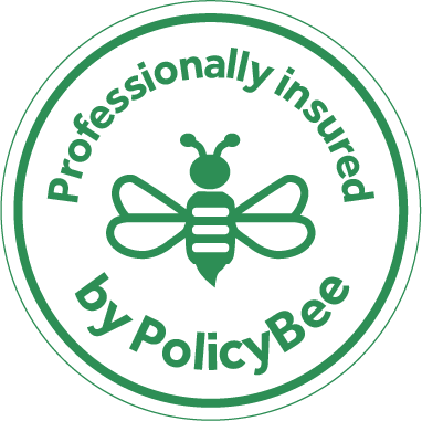 Policy Bee professional insurance logo Matt Appleby