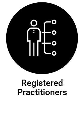Registered Practitioner icon deselected