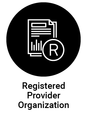 Registered Provider Organization (RPO) icon deselected