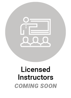 Licensed Instructors icon - coming soon