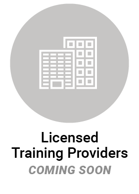 Licensed Training Provider icon coming soon