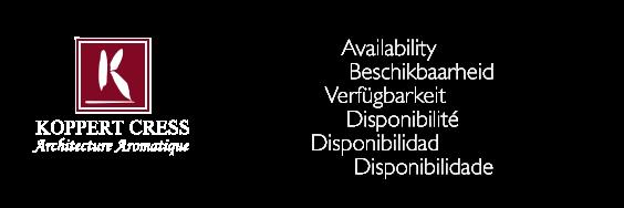 Logo Koppert Cress - Availability/Beschikbaarheid/Verfügbarkeit/Disponibilité/Disponibilidad/Disponibilidade