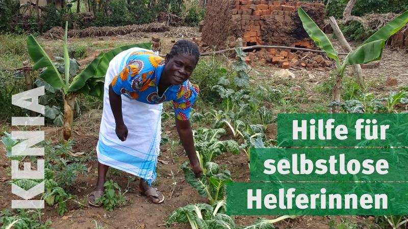 Kenia: Hilfe für selbstlose Helferinnen