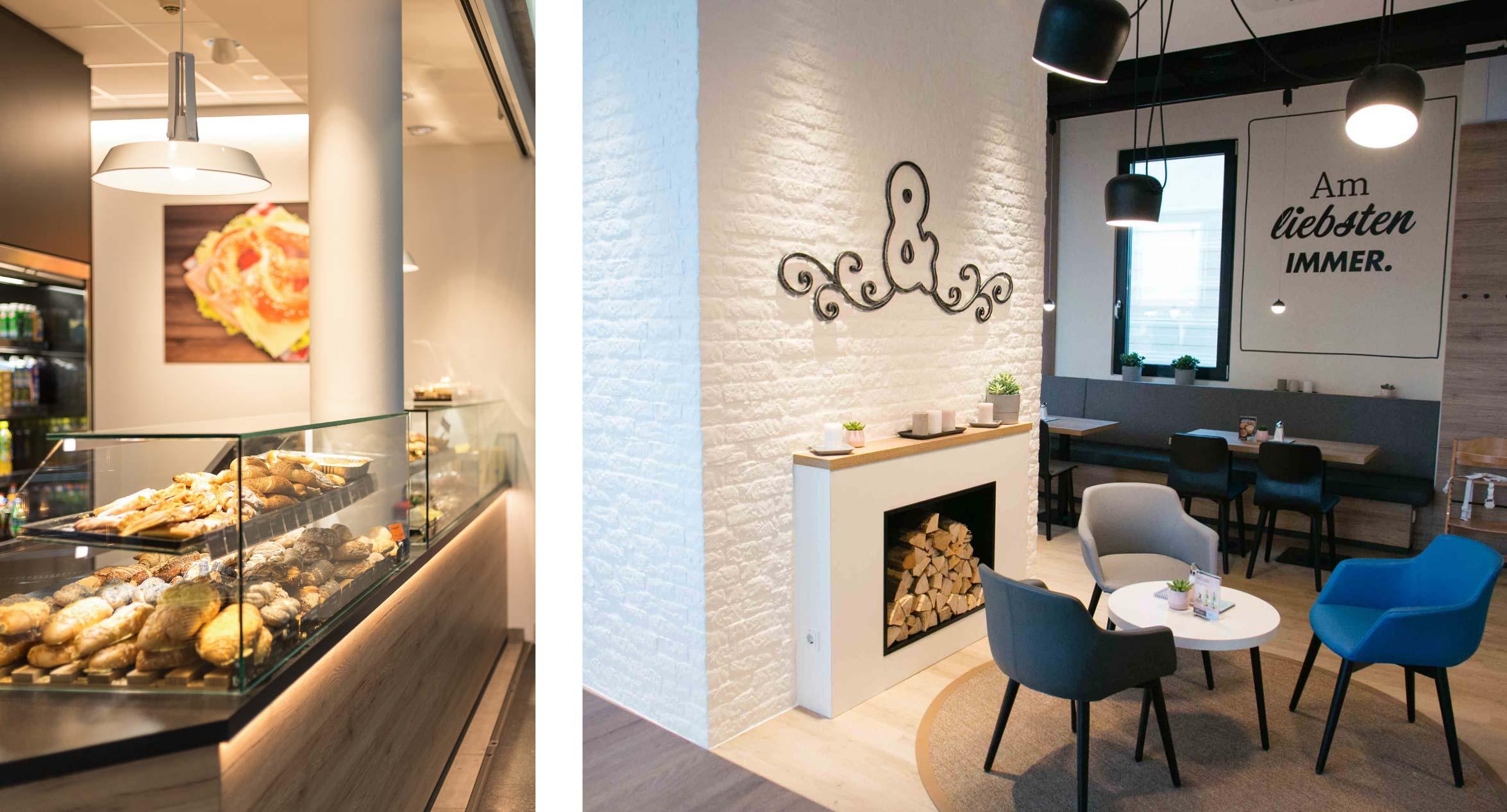 Bäckereieinrichtung von Vrana Shopdesign