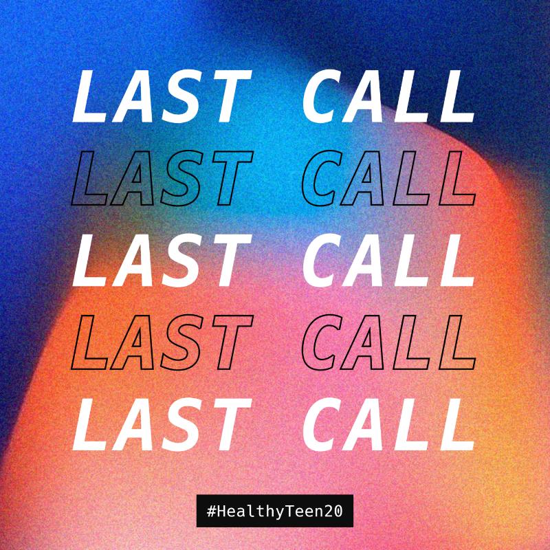 Last Call: Proposals Due April 1