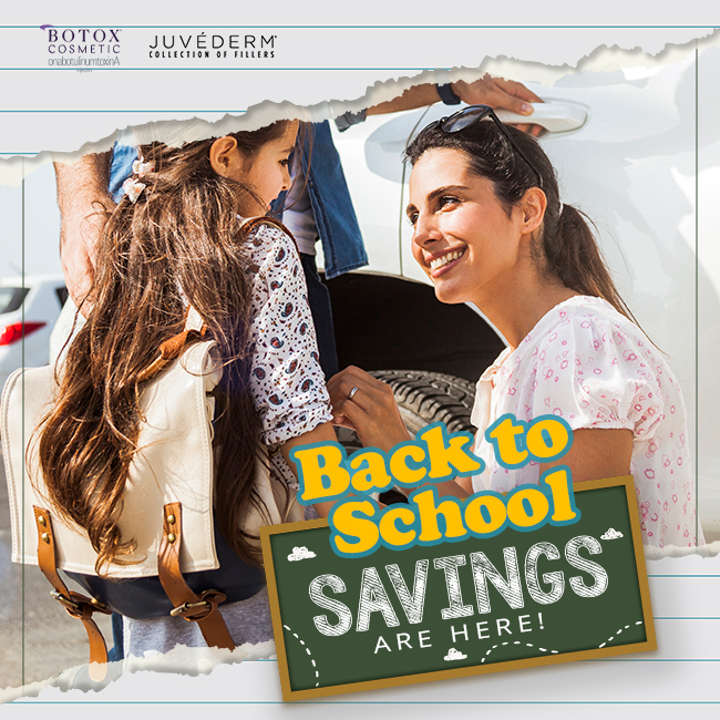 Back to School Savings Are Here!