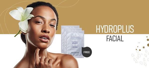 Purchase a HydroPlus Facial and Receive a FREE SkinMedica® Instant Bright Eye Mask ($48 Savings!)