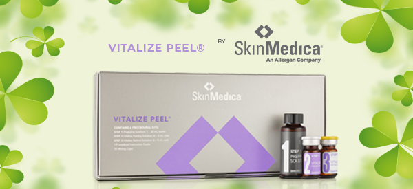 Buy 2 SkinMedica® Vitalize Peel® for $370 and Get a FREE Microdermabrasion Facial treatment ($150 value)
