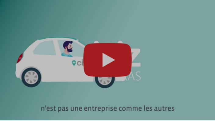Vidéo de présentation de la coopérative Citiz Alpes Loire