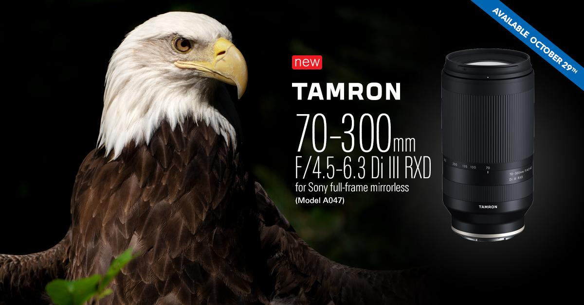 Tamron September Savings - Save up to $200 on select lenses